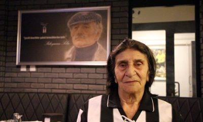 87 yaşındaki Nine'nin Beşiktaş aşkı
