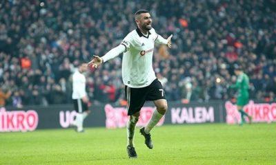 Burak Yılmaz'dan Beşiktaş formasıyla bir ilk
