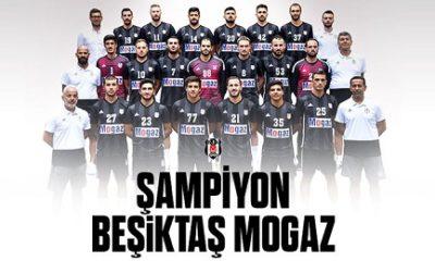 Beşiktaş Mogaz üst üste 11. kez şampiyon oldu!