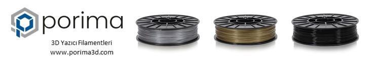 Porima - 3D Yazıcı Filamentleri