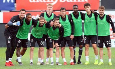 Beşiktaş'ın Alanyaspor maçı hazırlıkları sürüyor