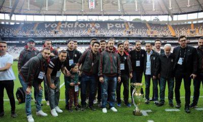 Şampiyon Kartal'lar Dolmabahçe'de buluştu