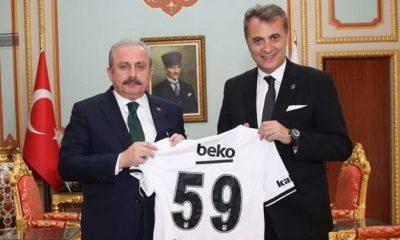 Fikret Orman'dan TBMM Başkanı Mustafa Şentop'a ziyaret