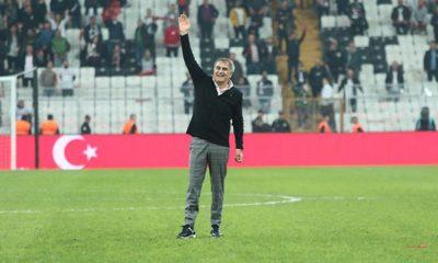 Şenol Güneş Beşiktaş'a böyle veda etti