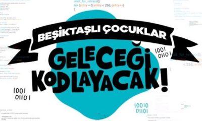 Beşiktaş'ın çocukları geleceği kodluyor