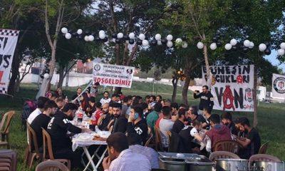 Van Beşiktaşlılar Derneği'nden iftar yemeği