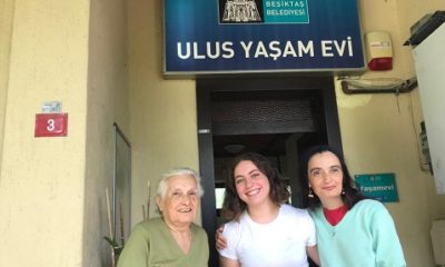 Gönüllü gençler Beşiktaş'ta