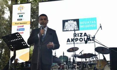 Beşiktaş'ta mikrofon vatandaşta