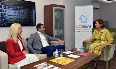 Başkan Akpolat'tan LÖSEV'e destek çağrısı