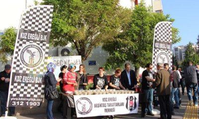 """Kdz Ereğli Beşiktaş Taraftarları Derneği: """"1 hayat için 10 dakikanızı ayırın"""""""
