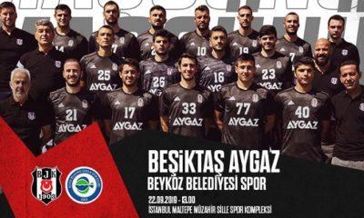 Beşiktaş Aygaz, 16. Süper Kupa için parkeye çıkacak