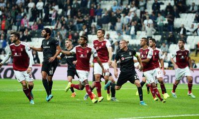 Beşiktaş sahasında kaybetti! 3 maç 0 puan