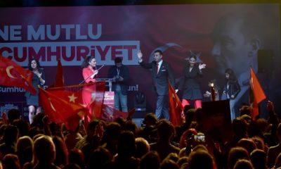 Beşiktaş'ta Cumhuriyet Bayramı'nın 96. yılı coşkuyla kutlandı
