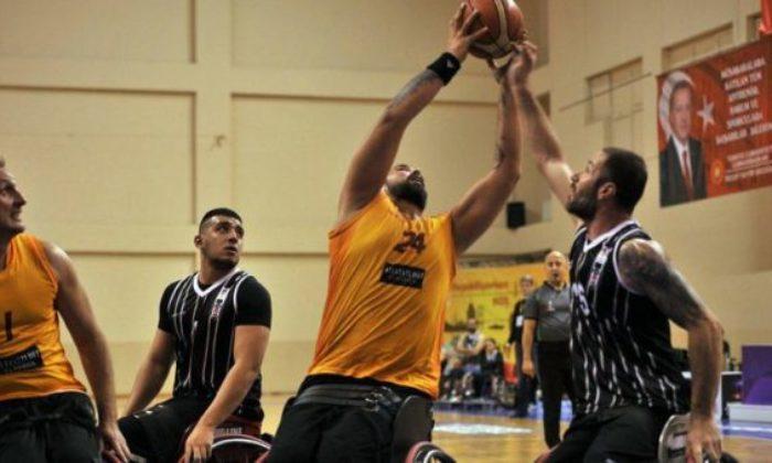 Tekerlekli sandalye basketbolda Galatasaray – Beşiktaş karşılaşması bugün oynanacak