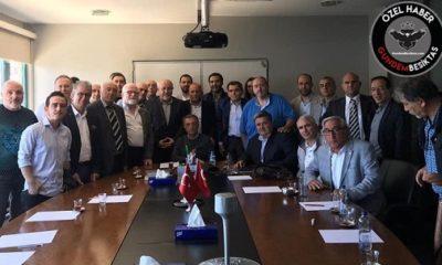 ÖZEL   Çağdaş Beşiktaşlılar Derneği Çebi'nin yanında