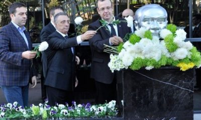 Ahmet Nur Çebi, Atatürk'ü anma törenine katıldı