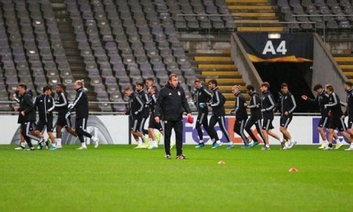 Beşiktaş yıldızlarından, hocasından yoksun Braga deplasmanında