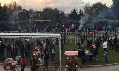 Beşiktaş'ta keyifli yılbaşı etkinliği