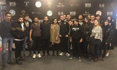UNIBJK Erciyes üyeleri, Kayseri Film Festivali kapsamında Kolej Havası filmini izledi