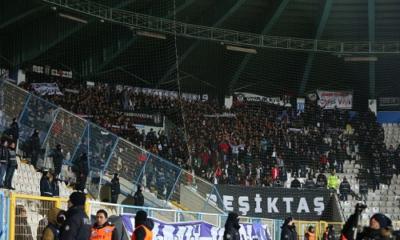 Beşiktaş taraftarı takımını yine yalnız bırakmadı