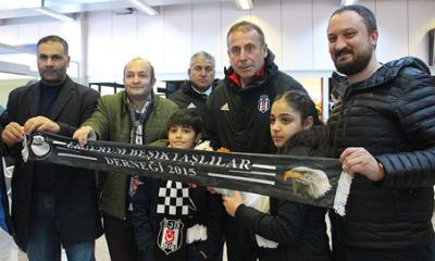 Beşiktaş'a Erzurum'da coşkulu karşılama