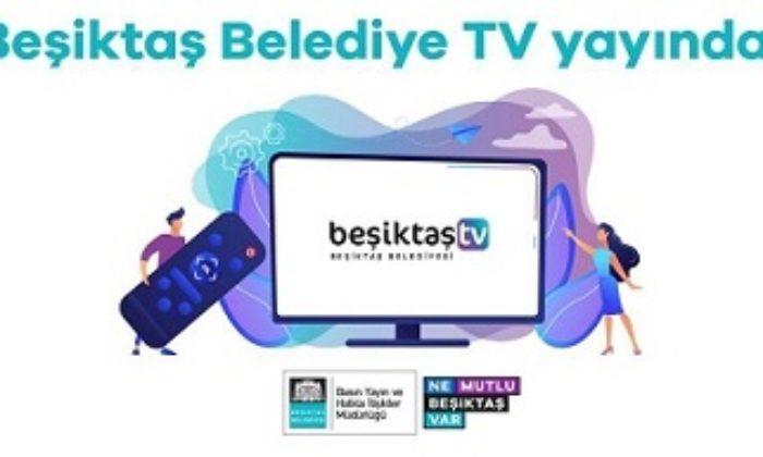 Beşiktaş Belediye TV YouTube'da yayın hayatına başladı