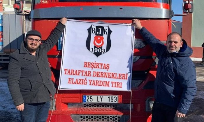 Beşiktaş Dernekleri'nden Elazığ'a yardım!