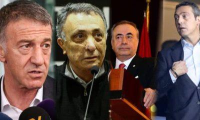 4 büyük kulübün başkanları bir araya geliyor…