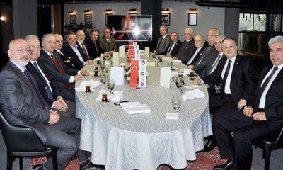 Divan Kurulu Başkanları Vodafone Park'ta bir araya geldi