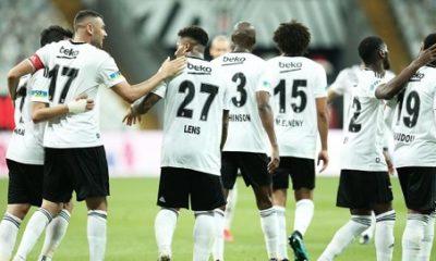 Burak Yılmaz coştu, Beşiktaş üst üste ikinci galibiyetini aldı