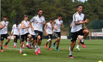 Beşiktaş'ta taktik günü