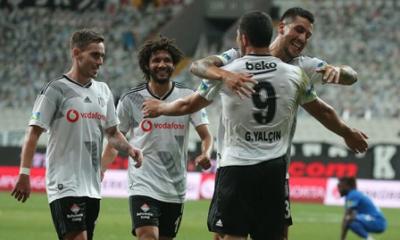 Beşiktaş son dakika golü ile Şampiyonlar Ligi'ne göz kırptı