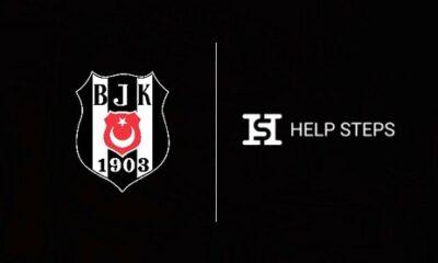 Beşiktaş ile HelpSteps iş birliği yaptı
