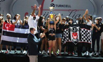 Beşiktaş, Süper Atletizm Kadınlar Ligi'nde Türkiye Üçüncüsü oldu