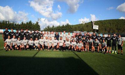 Beşiktaş 2020-21 sezonu hazırlıklarına başladı