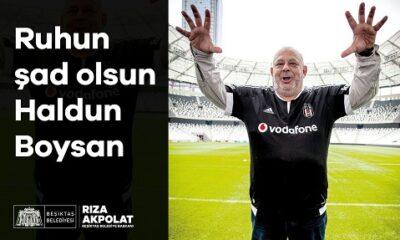 Beşiktaş Belediyesi Haldun Boysan'ı unutmadı