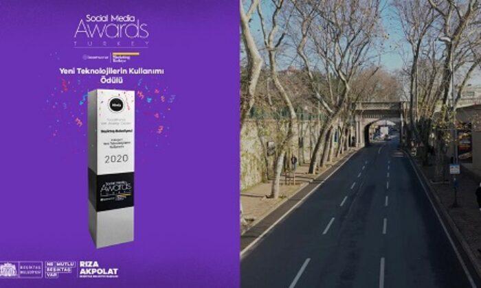 Akıldan çıkmaz yol projesiyle Beşiktaş Belediyesi'ne bir ödül daha