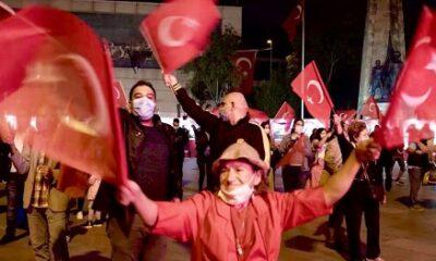 29 Ekim Cumhuriyet Bayramı Beşiktaş'ta coşkuyla kutlandı