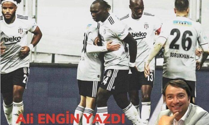 Beşiktaş takım olmuş