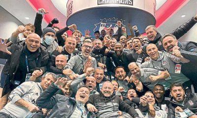 Süper Lig'in kusursuz lideri Beşiktaş!