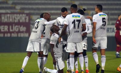 Lider Beşiktaş Hatay deplasmanında takıldı