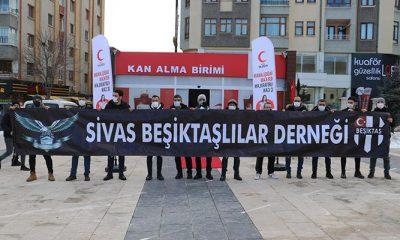 Sivas Beşiktaşlılar Derneği'nden anlamlı etkinlik