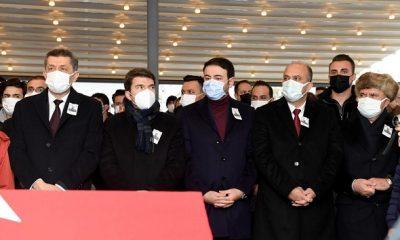 Başkan Akpolat, Doğan Cüceloğlu'nun cenazesine katıldı