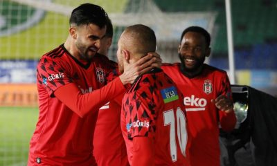 Beşiktaş forvetsiz de kazanıyor