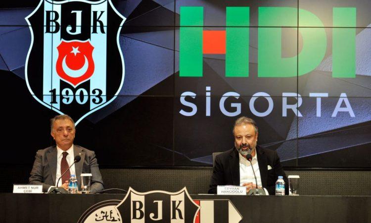 Beşiktaş JK ve HDI Sigorta iş birliği güçlenerek devam ediyor