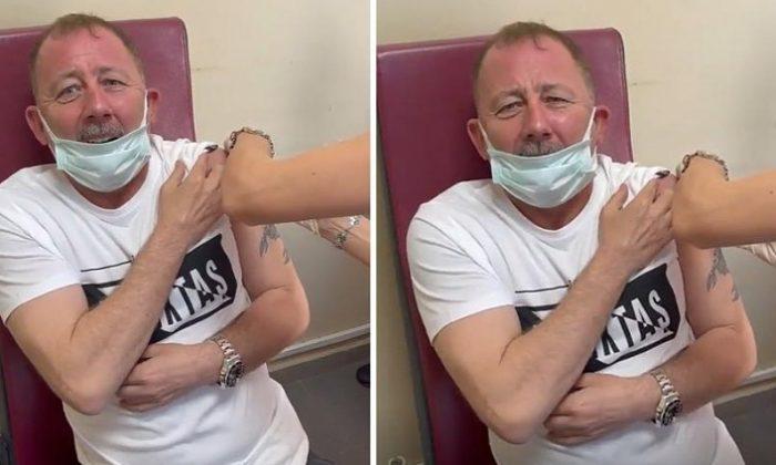 Sergen Yalçın koronavirüs aşısı oldu! 'Allah! Bu neymiş böyle ya…'
