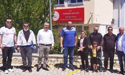 Tekirdağ Beşiktaşlılar Derneği'nden anlamlı hareket