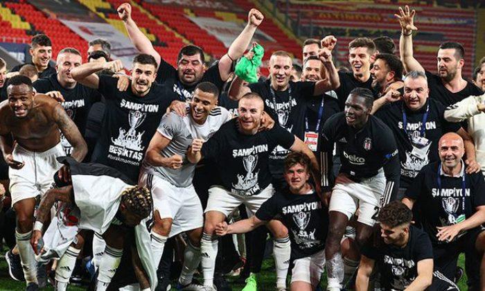 Beşiktaş'ın şampiyonluğu Avrupa'da manşetlerde
