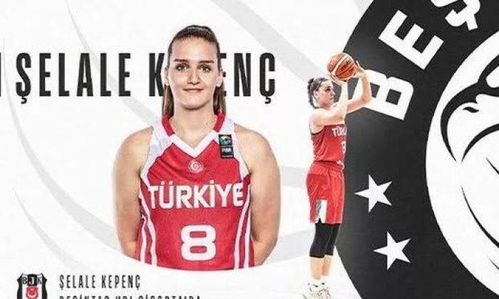 Beşiktaş HDI Sigorto Şelale Kepenç'i kadrosuna kattığını duyurdu!