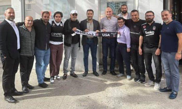 Emre Kocadağ, New York'ta Beşiktaşlılarla bir araya geldi